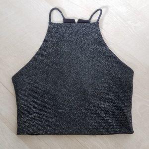 One Clothing Halter Crop Top